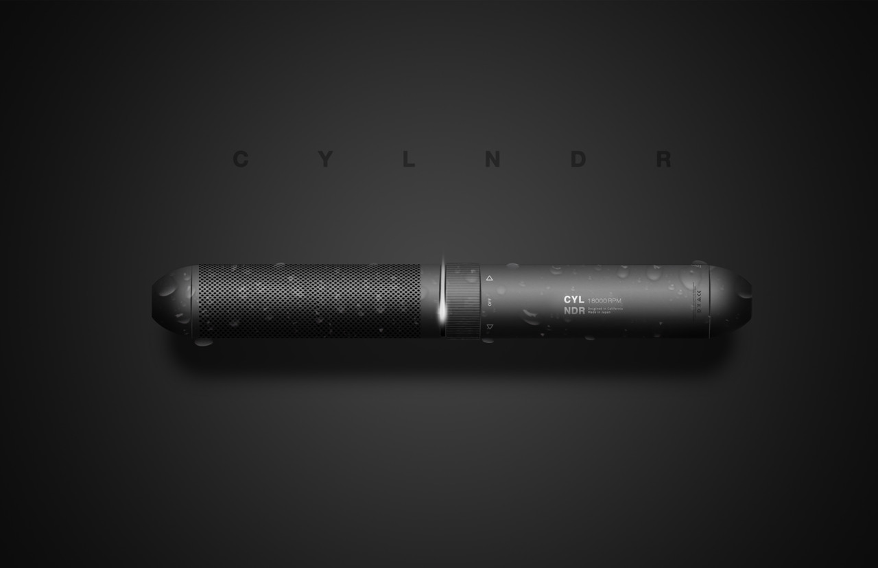 The CYLNDR Electric Shaver Waves Whiskers Away