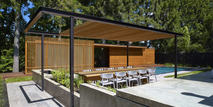 A Backyard Pavilion and Pool for the Perfect Escape - Design ...