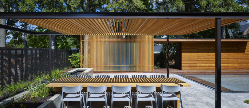 A Backyard Pavilion And Pool For The Perfect Escape Design Milk
