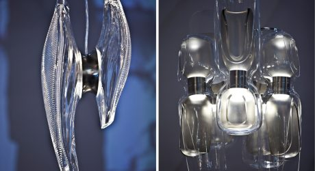 Duna and Eve Chandeliers by Zaha Hadid Design for Lasvit