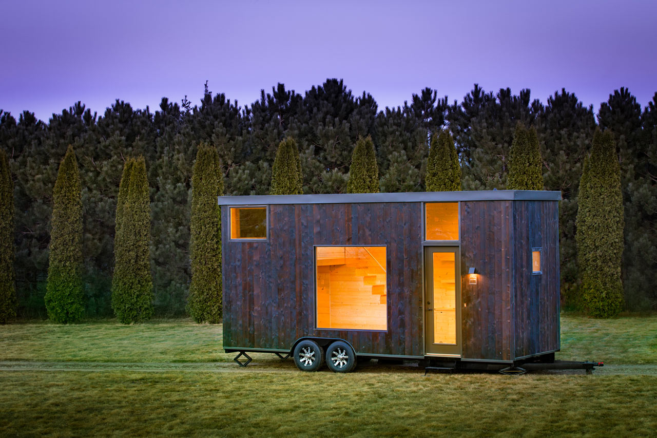 ESCAPE Homes Unveils a 276-Square-Foot Tiny Home on Wheels