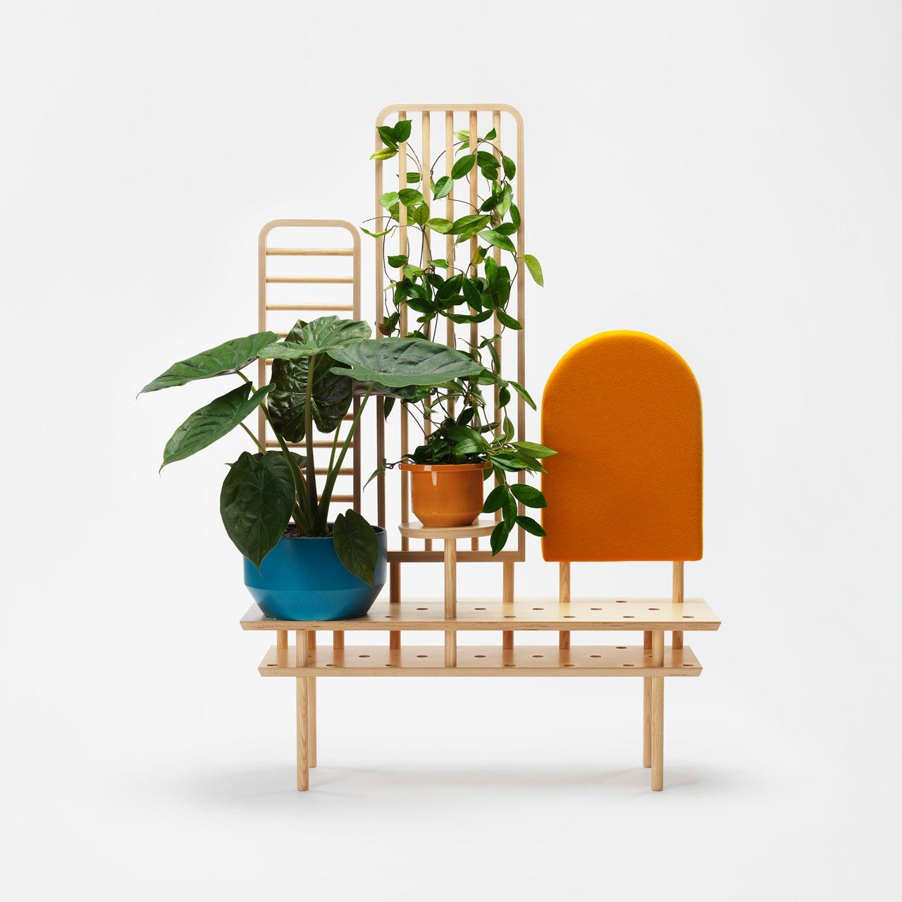 multifunctional furniture. etta: multifunctional furniture for indoor plants