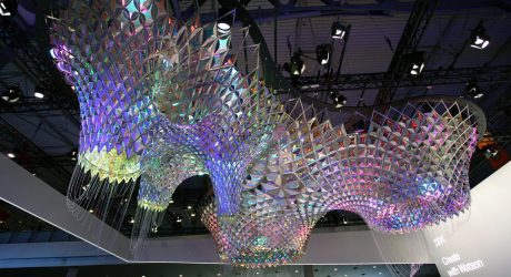 A Gaudi-Inspired, Thinking Sculpture Designed with the Help of IBM's Watson