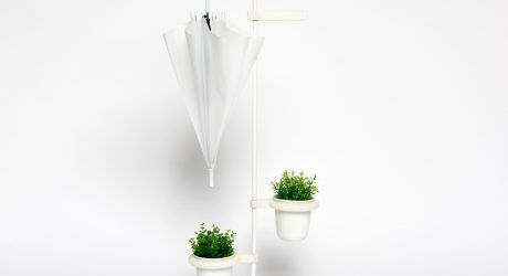 LÖV Lets You Water Your Plants While Your Umbrella Dries