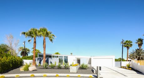 A Palm Springs Mid-Century Modern Home Gets Lovingly Restored
