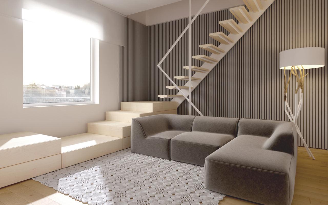 A Modern Kiev Apartment that Feels More Like a Home