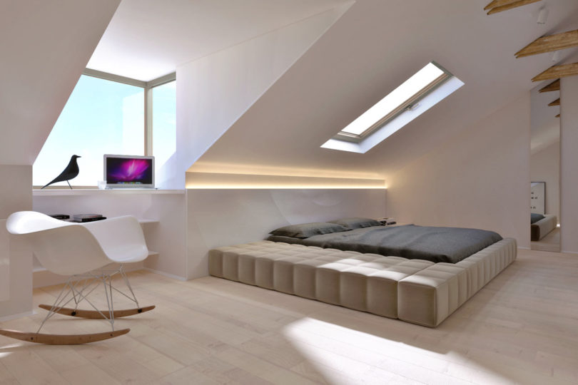 a modern kiev apartment that feels more like a home. Black Bedroom Furniture Sets. Home Design Ideas