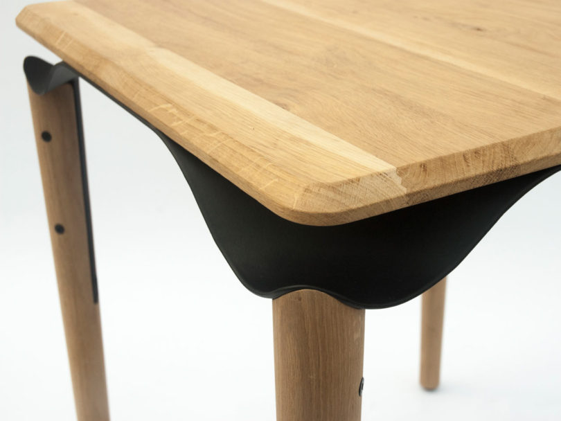 Phebos xenakis reimagines the bistro table with a for Table 7 bistro