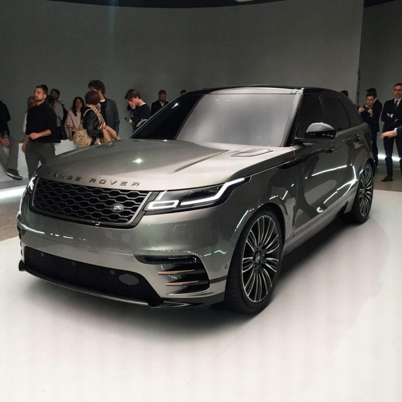 Range Rover Velar Black Rangerover Cars Car Black: Land Rover Launches New Range Rover Velar At Milan Design