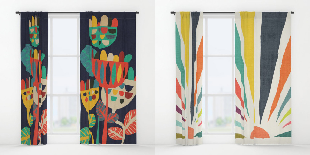 Finding Shapes in Drapes with Society6
