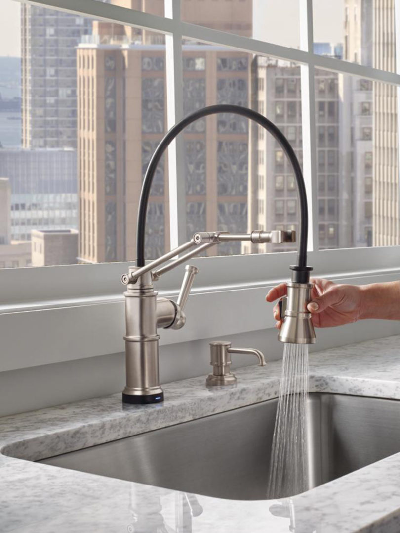 ss stainless brilliance euro brizo cold faucet com only lifetime beverage includes warranty kitchen