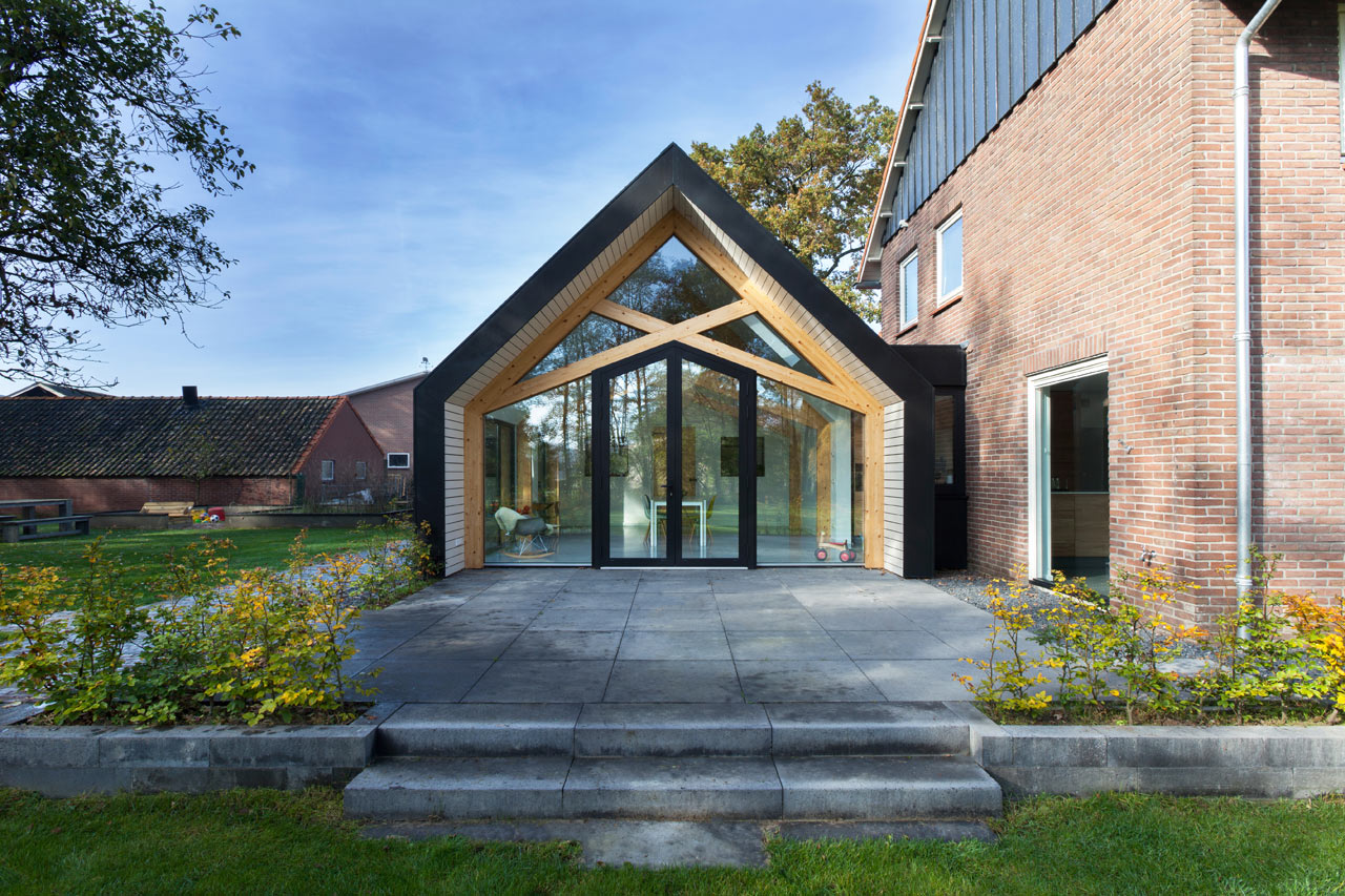 A s farmhouse in the netherlands is renovated and gets an