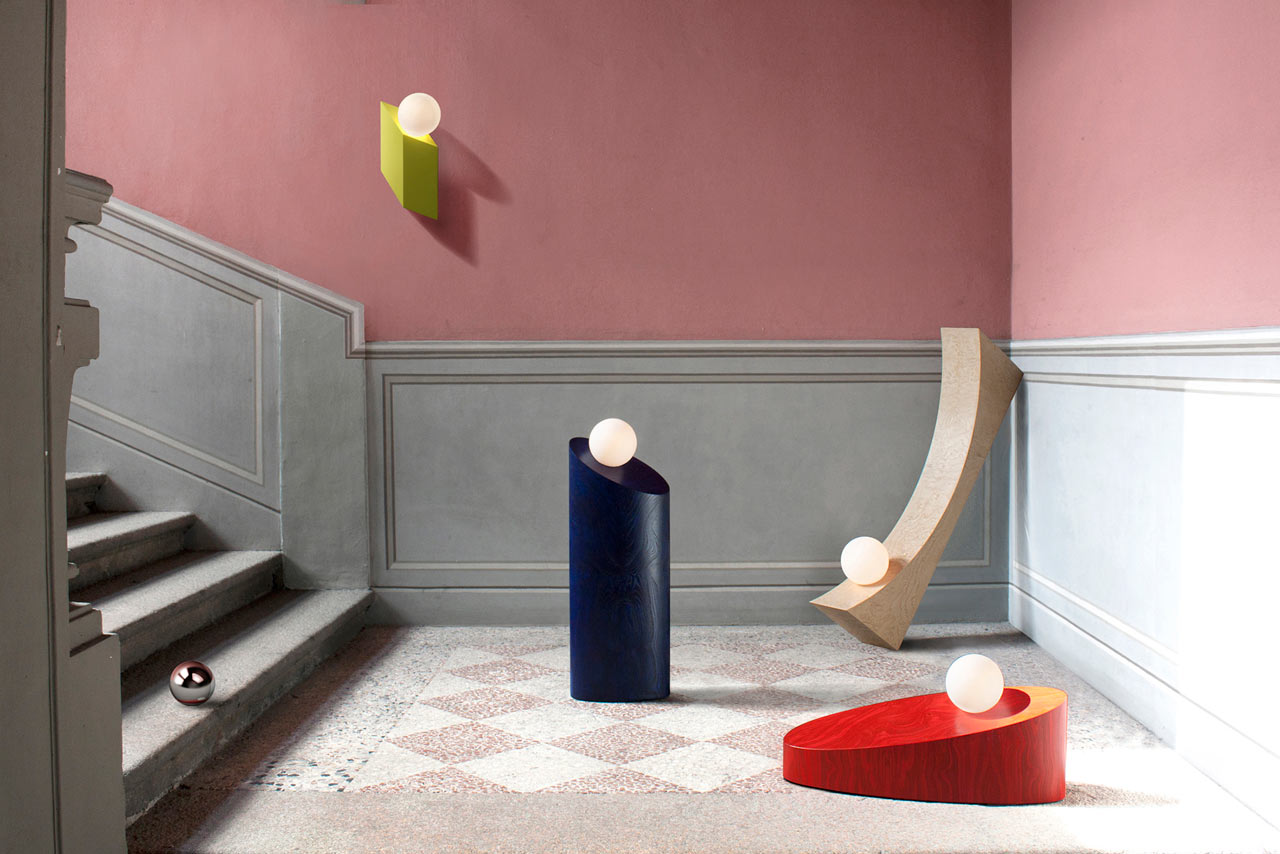 Sculptural, Geometric Lighting by Child Studio