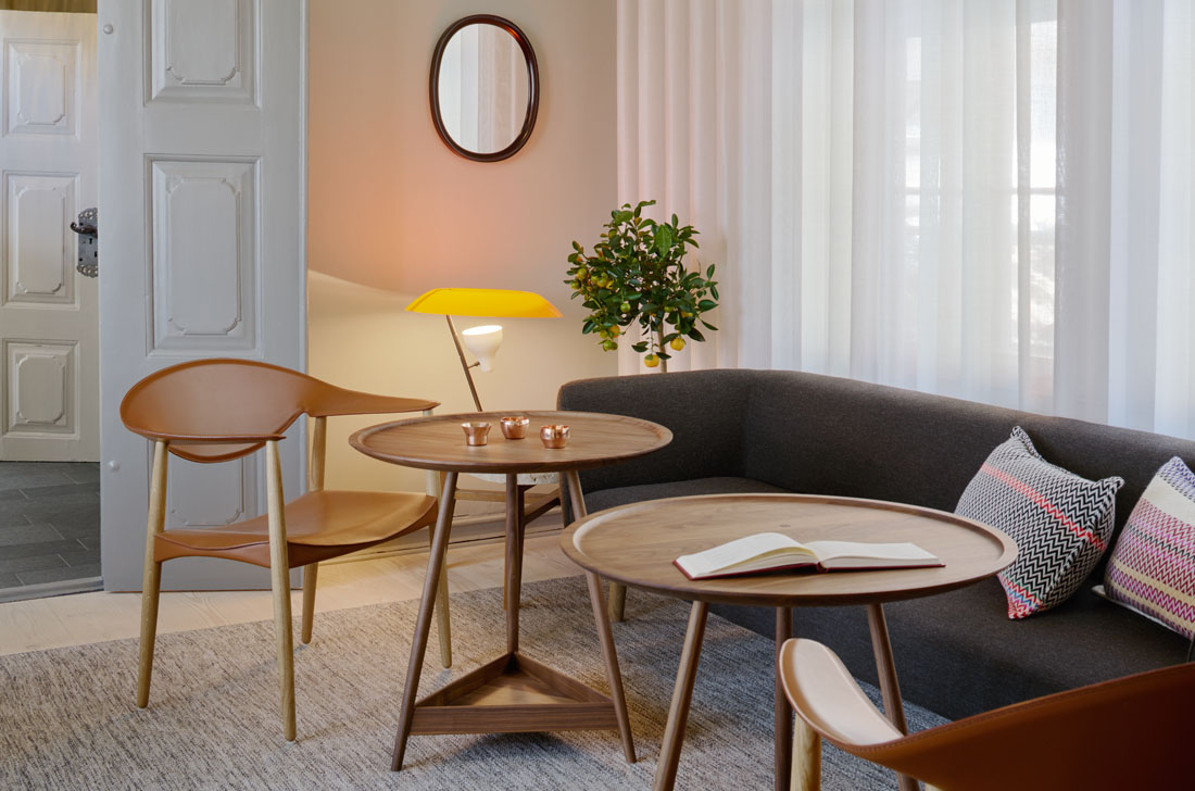 The villa terminus a quiet balance of history modernity for Design hotel berge