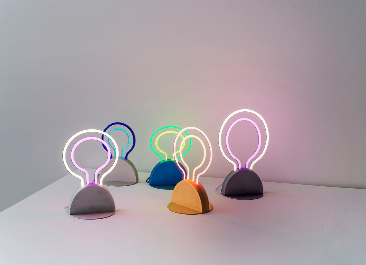 How Carnevale Studio Domesticates Neon and Brings It Inside