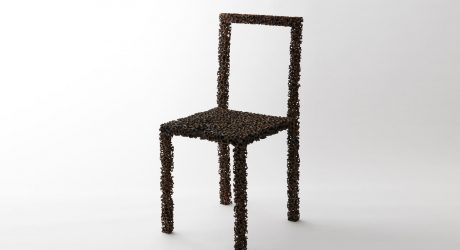 Drought: A Bronze Chair Created Using a Natural Dehydrating Process