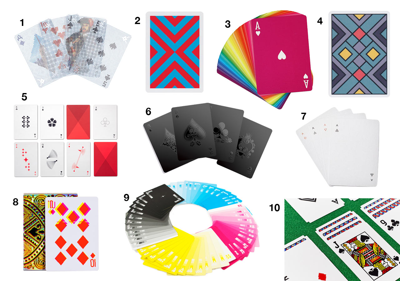 10 modern decks of playing cards to keep you in the game design milk 10 modern decks of playing cards to keep you in the game biocorpaavc Choice Image