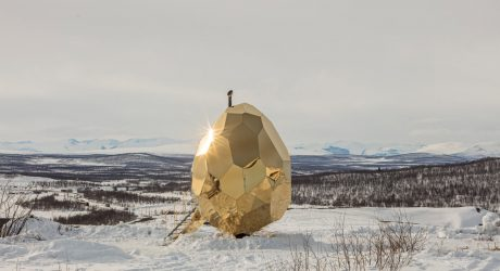 SOLAR EGG: A Public Sauna for Locals to Meet
