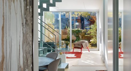 A Toronto Row House Stands Out Amongst the Rest