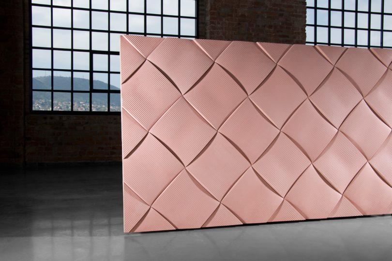 Weave concrete tiles by note design studio for kaza concrete