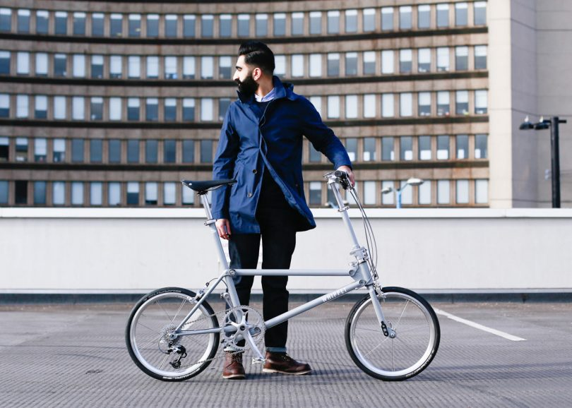 Whippet Bicycle: A British Folding Bike Designed for Urban Living
