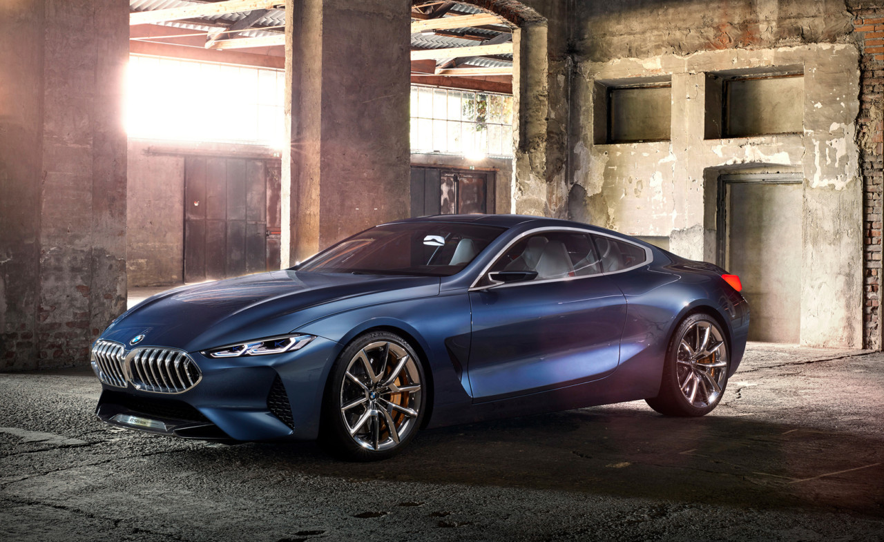 The BMW Concept 8 Series: An Architecture of Luxurious ...