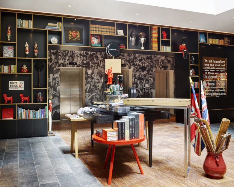 Mobile, Modern, Modular: citizenM's Tower of London Hotel - Design Milk