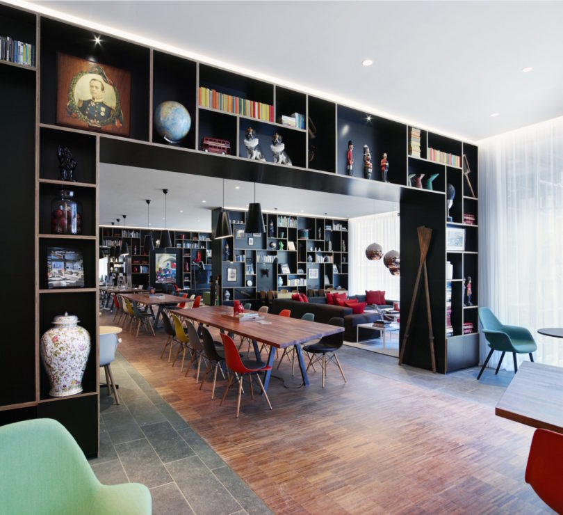 design hotel citizenm london, mobile, modern, modular: citizenm's tower of london hotel - design milk, Design ideen