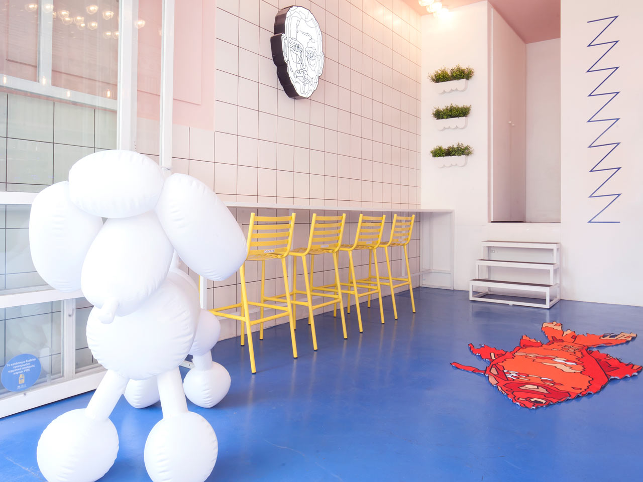 coffix: A Quirky, Colorful Coffee Shop in Athens, Greece