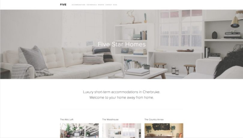 which squarespace template is right for you design milk. Black Bedroom Furniture Sets. Home Design Ideas