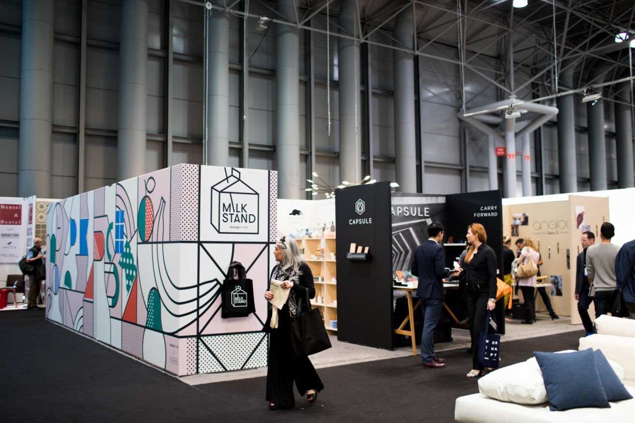 The Milk Stand Was the Place To Play and Shop at ICFF 2017 [VIDEO]