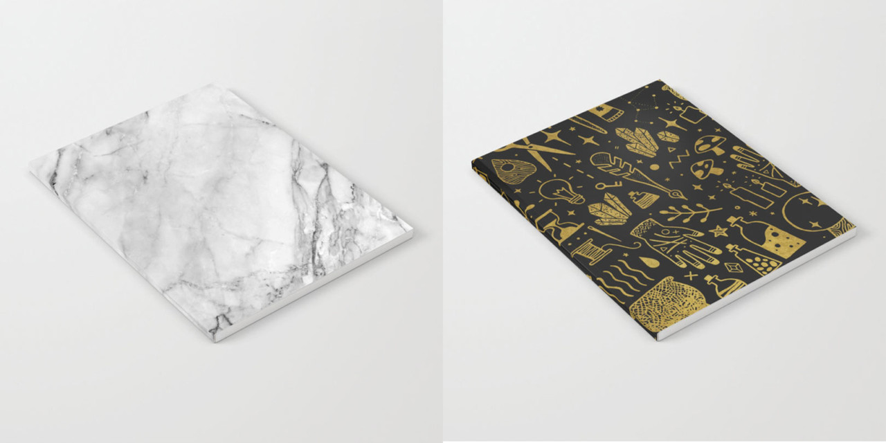 Notebook Faves From Society6's Collective of Artists