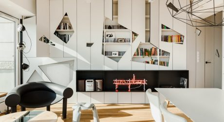 A Penthouse Apartment in Poznan Gets Revamped