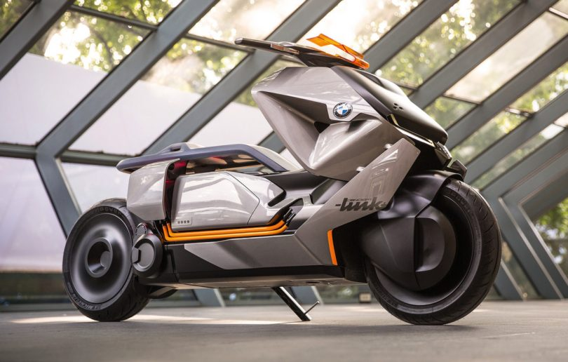 The BMW Motorrad Concept Link Foretells the Future of Urban Mobility