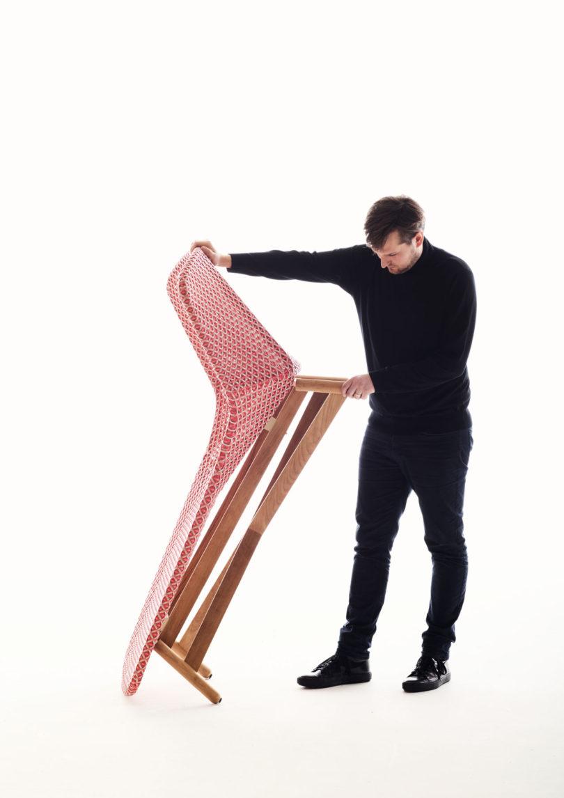 sebastian herkner brings a nordic spin to dedon with. Black Bedroom Furniture Sets. Home Design Ideas