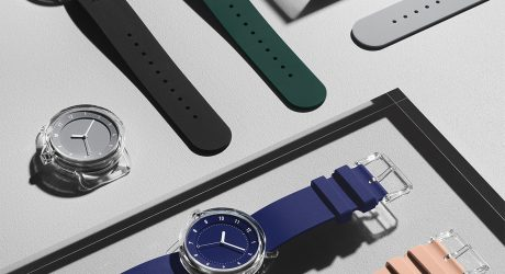 TID Watches Launches No.3 with Silicone Strap and Transparent Case