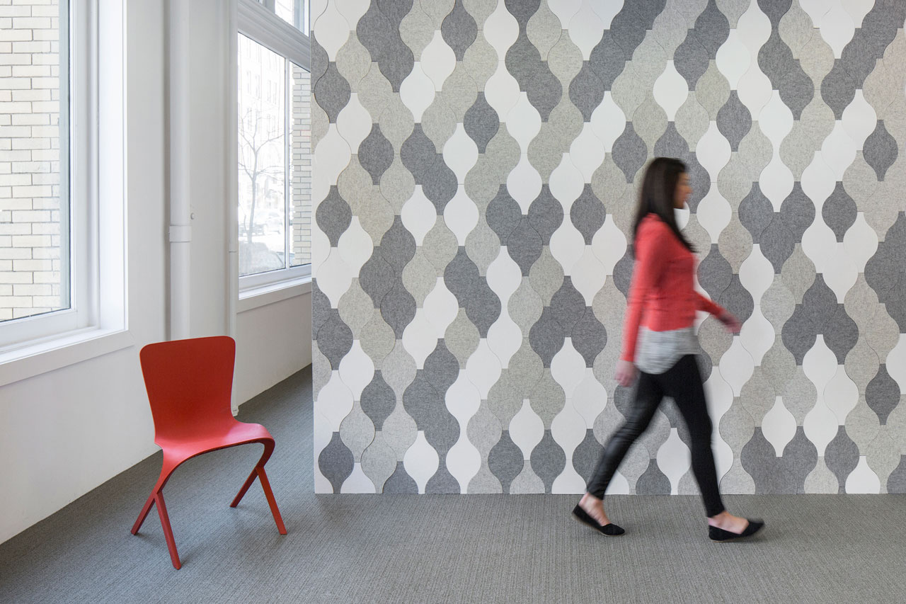 FilzFelt Launches the Eva Zeisel Collection of Acoustic Tiles
