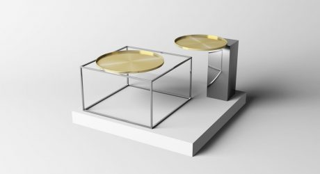 Flying Tables That Look as If Time Has Stopped by Mario Tsai Studio