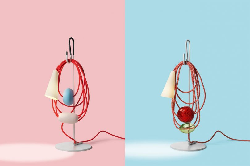 Filo: Deconstructed Lamps by Andrea Anastasio for Foscarini
