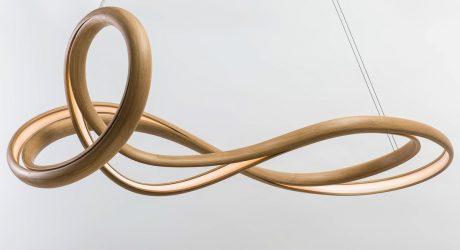 John Procario Explores Sculptural Lighting with His Freeform Luminaire Series