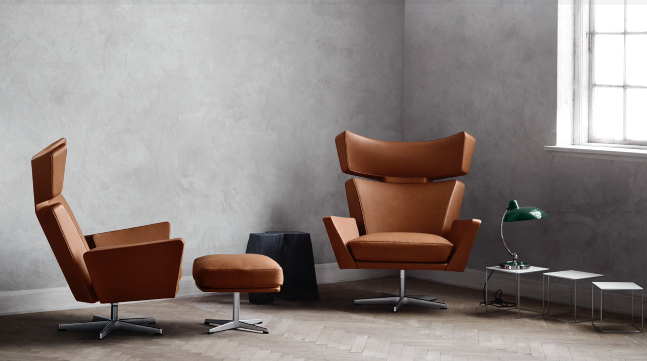 Fritz Hansen Brings The Oksen Chair By Arne Jacobsen Back