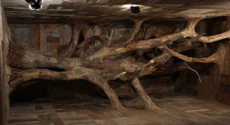Henrique Oliveira's Devir: An Invasive Sculpture