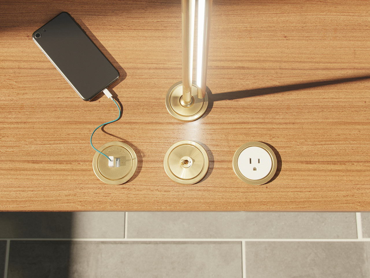 Ground Control: NASA-Inspired Power Accessories by Juniper