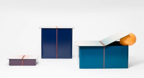 LIGA: Storage Furniture by Pierre Alexandre Cesbron and Matthieu Muller