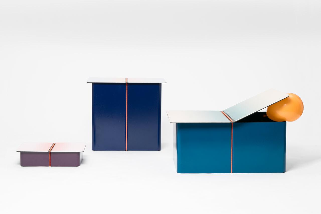 LIGA: Storage Furniture by Pierre Alexandre Cesbron and Matthieu Muller
