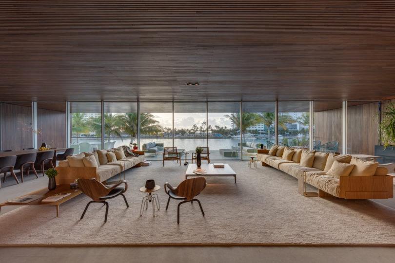 A Miami Beach Home With A Swimmable Lagoon Design Milk