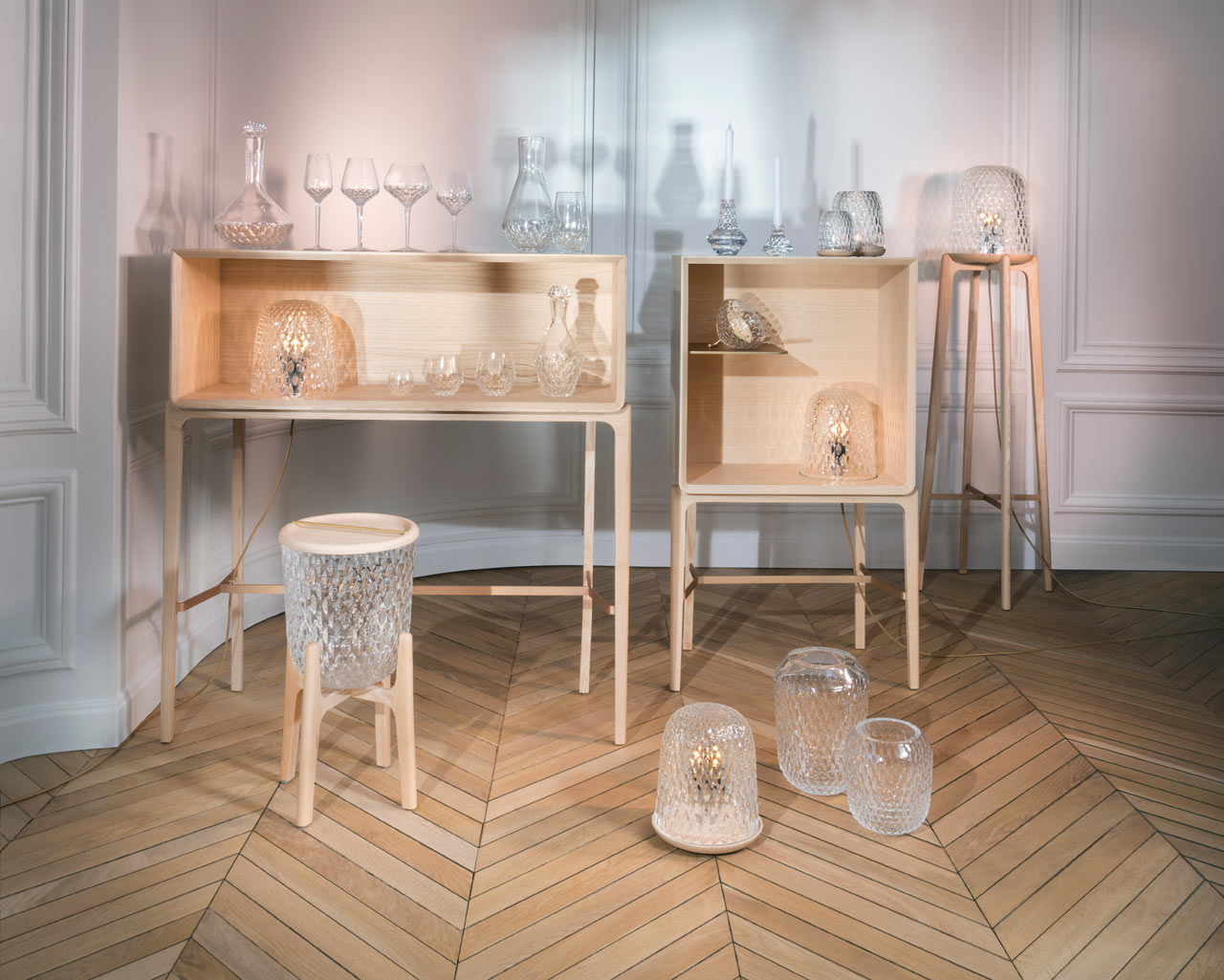 Noé Duchaufour-Lawrance Debuts Collection of Modern Crystal - Design ...