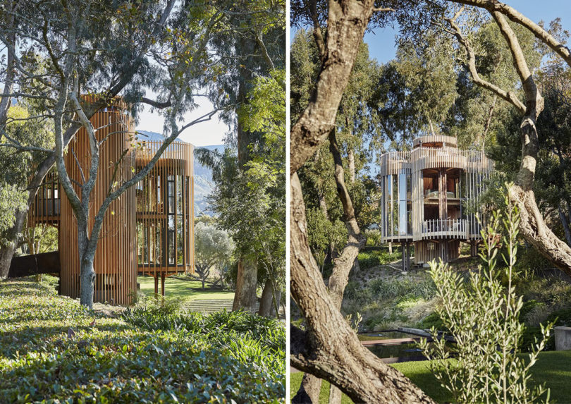 10 Modern Treehouses We D Love To Have In Our Own Backyard Design Milk