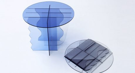 TINGE: A Mix and Match Table Series Made From Scrap Plastic