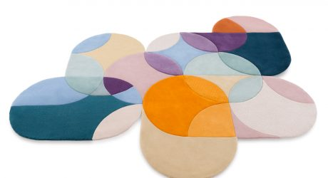 Modular Geometric Carpets by Lim + Lu for Tai Ping